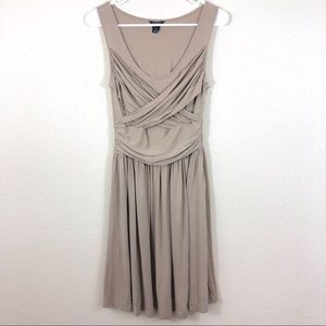 Club Monaco Draped Cross Front Jersey Dress